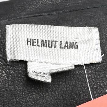 бирка Кожаная куртка Helmut Lang