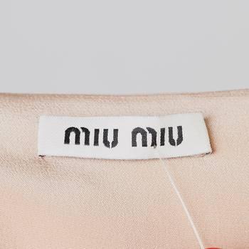 бирка Блуза Miu Miu