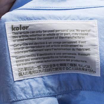 бирка Рубашка  Kolor