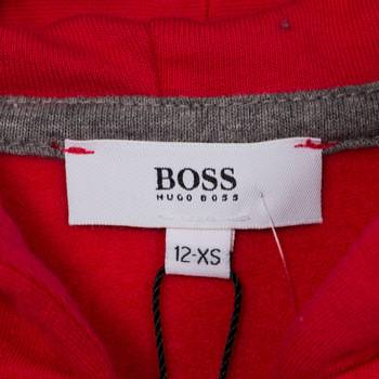 бирка Толстовка Boss by Hugo Boss