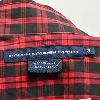бирка Рубашка Ralph Lauren Sport