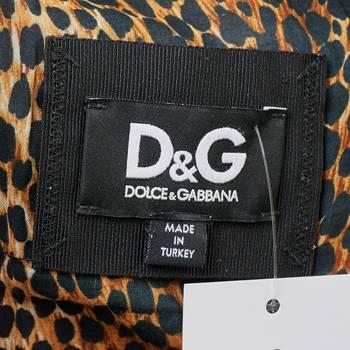 бирка Кожаная куртка D&G