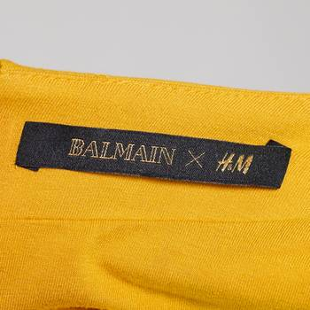 бирка Топ H&M x Balmain