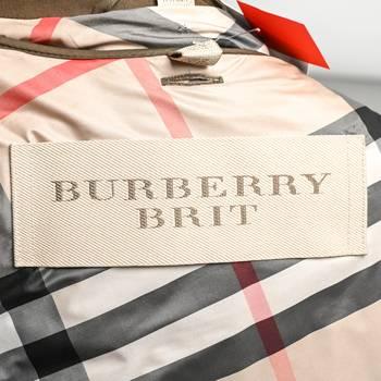 бирка Парка Burberry Brit