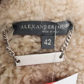 бирка Пальто  Alexander McQueen