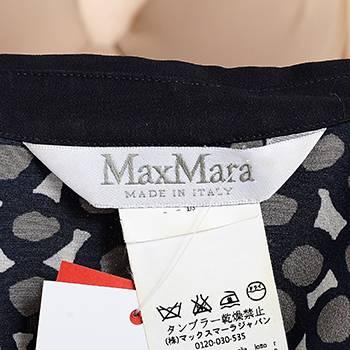 бирка Рубашка-платье Max Mara