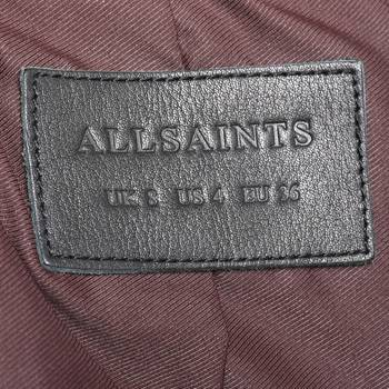 бирка Кожаная куртка All Saints
