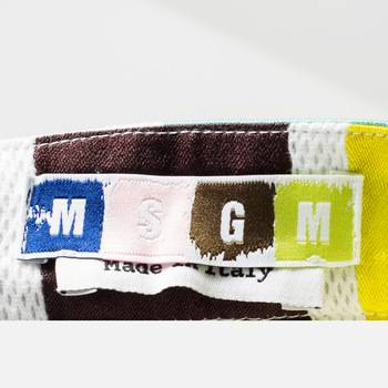 бирка Юбка  MSGM