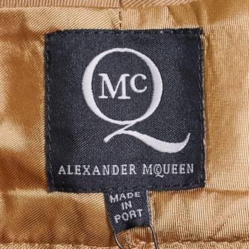 бирка Шорты Alexander McQueen