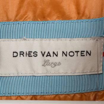 бирка Пуховик  Dries Van Noten