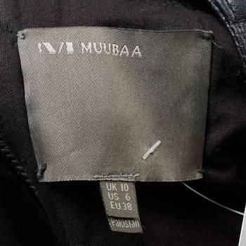 бирка Кожаная куртка Muubaa
