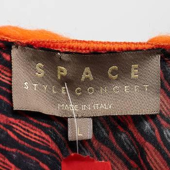 бирка Платьe-туника  Space