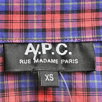 бирка Рубашка A.P.C.
