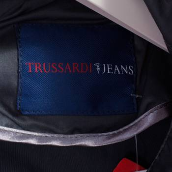 бирка Ветровка  Trussardi Jeans