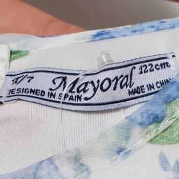 бирка Платье  Mayoral