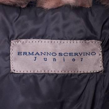 бирка Пуховик  Ermanno Scervino