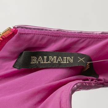 бирка Платье H&M х Balmain