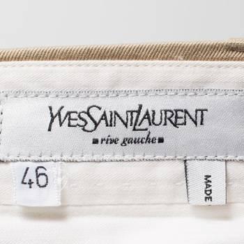 бирка Брюки  Yves Saint Laurent