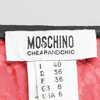 бирка Платье Moschino Cheap and Chic