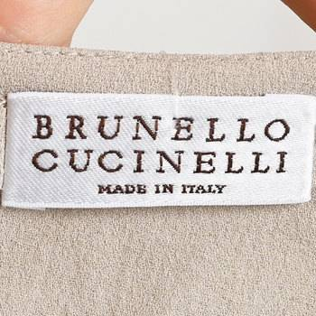 бирка Платье Brunello Cucinelli