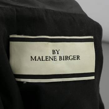 бирка Кожаная куртка By Malene Birger
