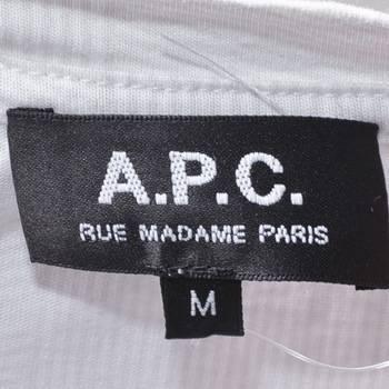 бирка Футболка  A.P.C.