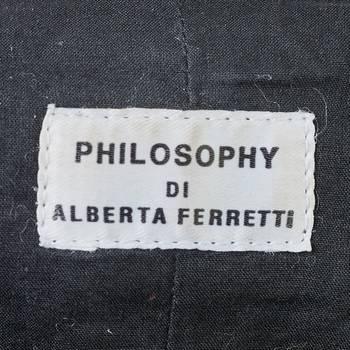бирка Кожаная куртка Philosophy di Alberta Ferretti