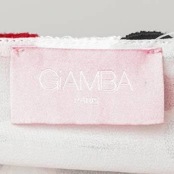 бирка Платье Giamba