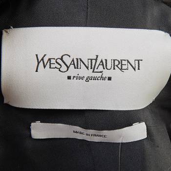 бирка Куртка Yves Saint Laurent