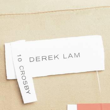 бирка Тренч  Derek Lam