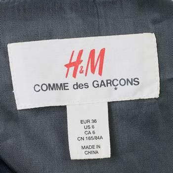 бирка Тренч H&M x Comme des Garcons
