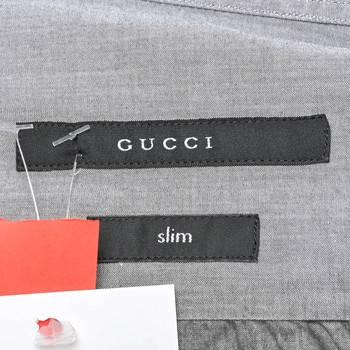 бирка Рубашка Gucci