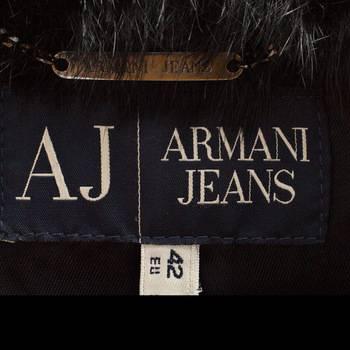 бирка Жакет Armani Jeans
