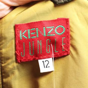бирка Платье Kenzo Jungle