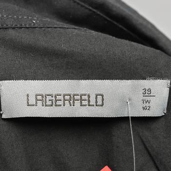 бирка Рубашка Karl Lagerfeld