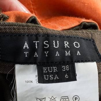 бирка Брюки  Atsuro Tayama