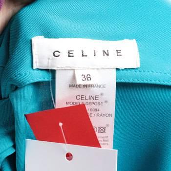 бирка Платье Celine