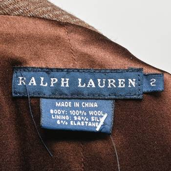 бирка Жилет Ralph Lauren