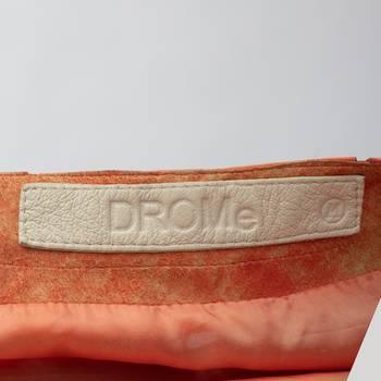бирка Кожаное пальто DROMe