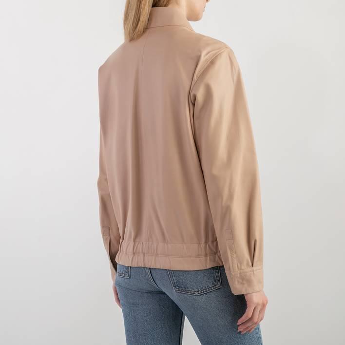 Кожаная куртка Jil Sander