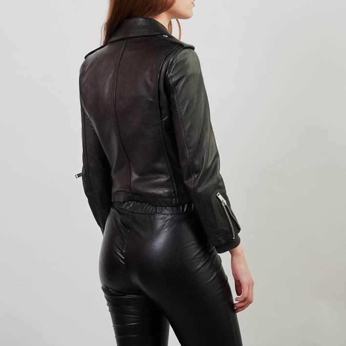 Кожаная куртка  R13