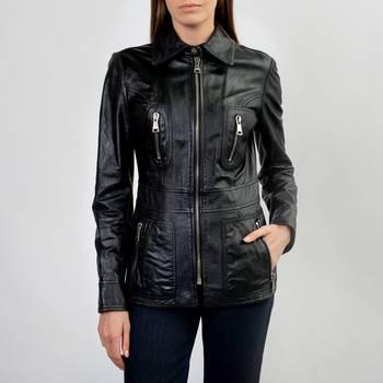 Кожаная куртка Dolce & Gabbana