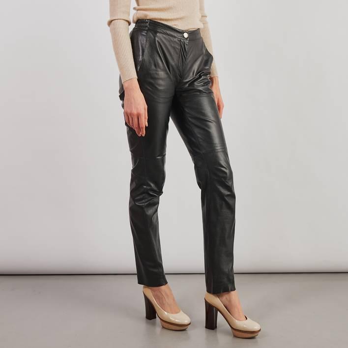 Кожаные брюки Louis Vuitton