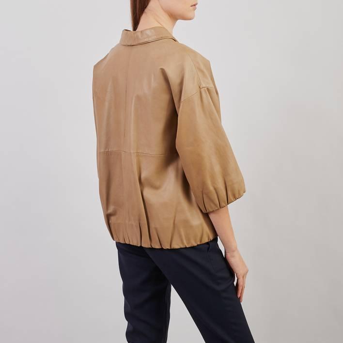 Кожаная куртка Cos