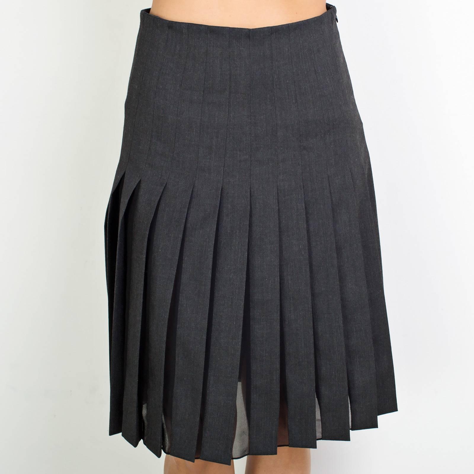 Купить серую юбку в москве