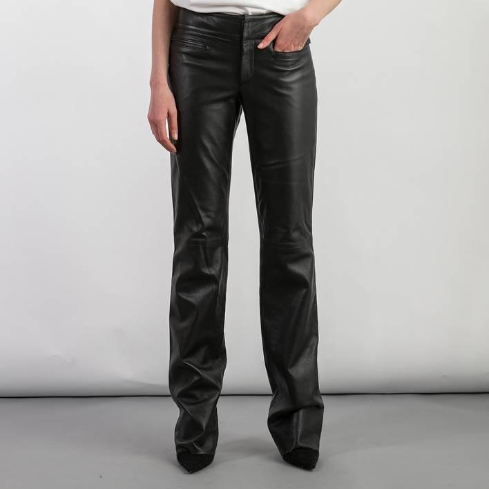 Кожаные брюки Gucci
