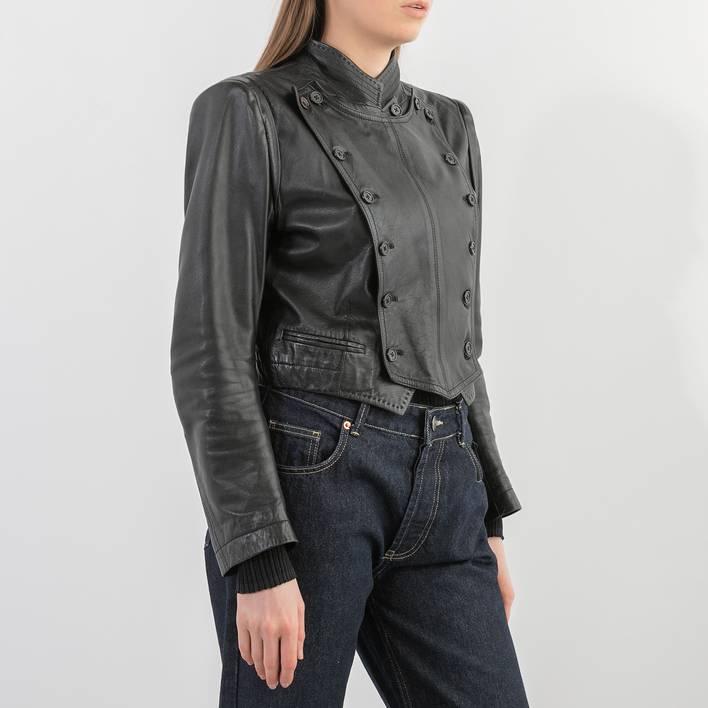 Кожаная куртка Ann Demeulemeester