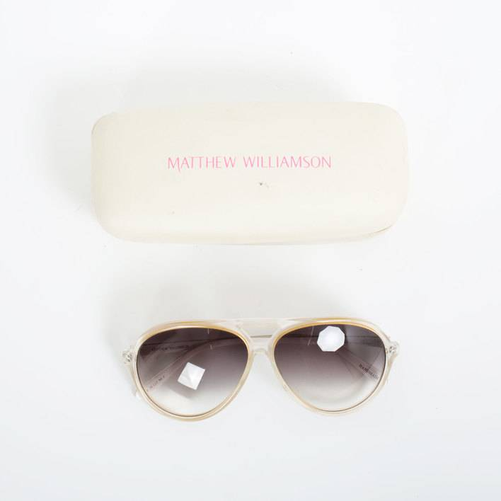 Очки Linda Farrow x Matthew Williamson