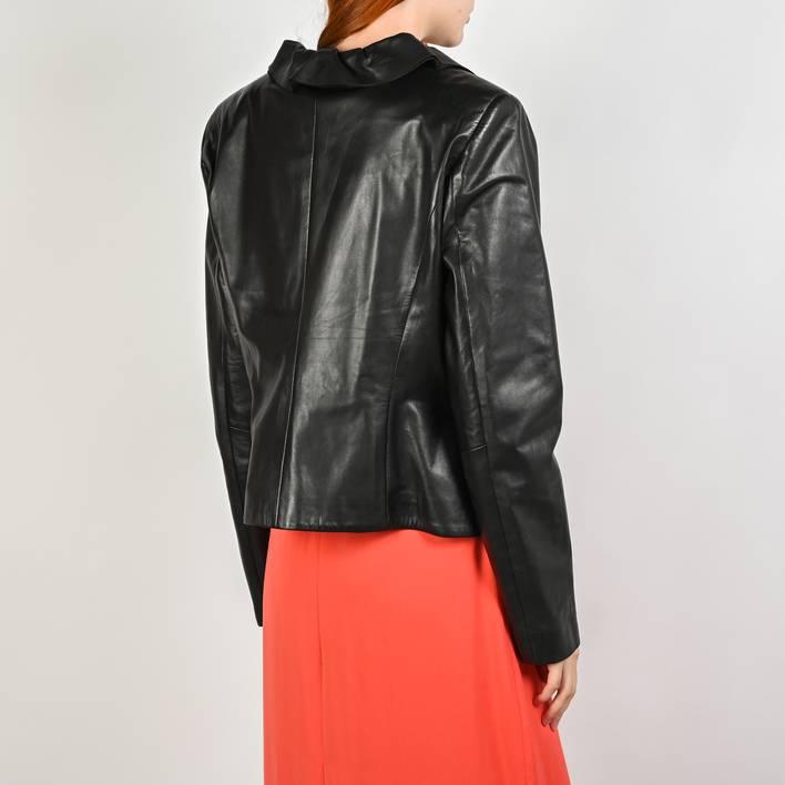 Кожаная куртка  Escada
