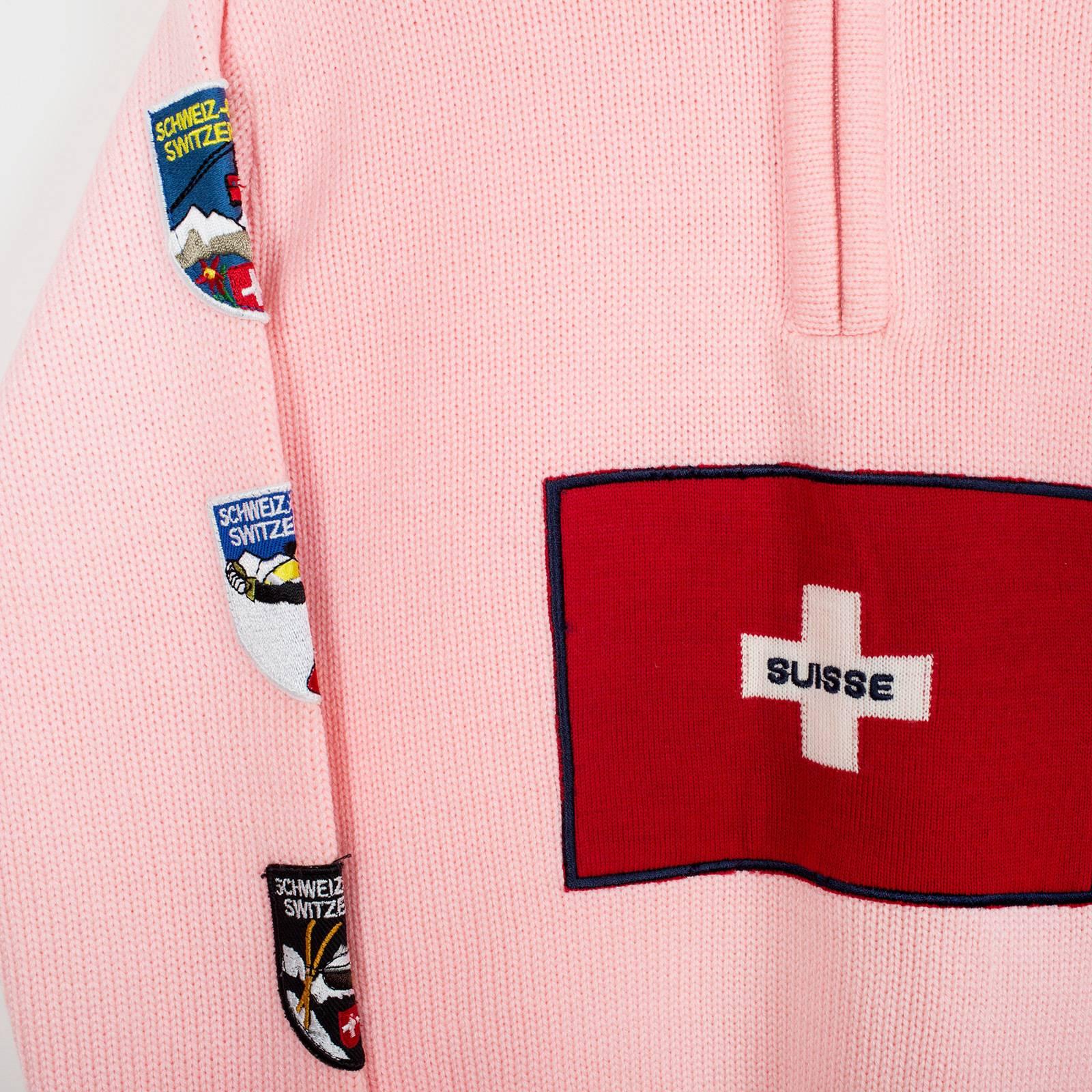 Джемпер  Swiss Alp Fantasy
